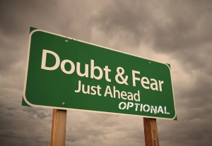 Doubt and Fear Just Ahead Optional